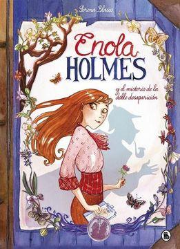 portada Enola Holmes y el Misterio de la Doble Desaparicion (Enola Holmes: La Novela Grafica 1)