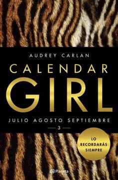 portada Calendar Girl iii