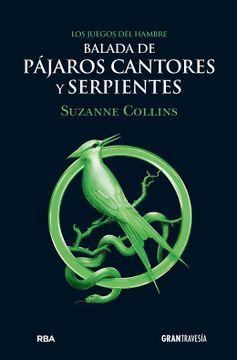 portada Balada de Pájaros cantores y Serpientes.