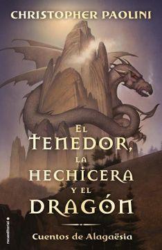 portada El Tenedor, la Hechicera y el Dragón