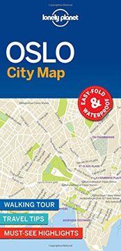 portada Lonely Planet Oslo City Map (libro en Inglés)