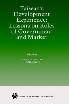 portada taiwan s development experience: lessons on roles of government and market