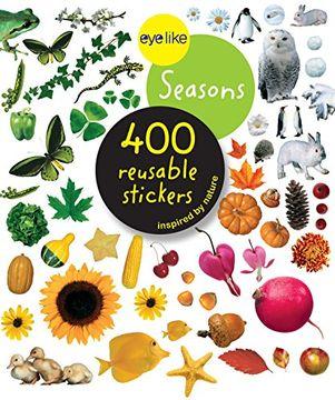 portada Eyelike Stickers: Seasons (libro en inglés)