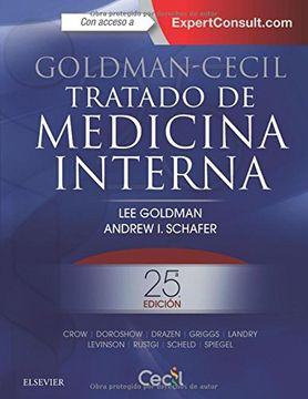 portada Goldman-Cecil. Tratado de medicina interna + ExpertConsult (25ª ed.)