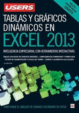 portada Tablas y Gráficos Dinámicos en Microsoft Excel: Manuales Users