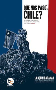 portada Que nos Paso Chile