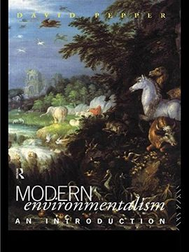 portada Modern Environmentalism: An Introduction (libro en inglés)