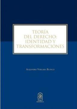 portada Teoría del Derecho: Identidad y Transformaciones