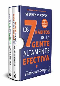 portada Estuche los 7 Hábitos de la Gente Altamente Efectiva + Cuaderno de Trabajo