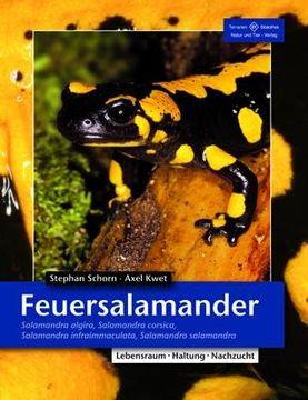portada Feuersalamander: Salamandra algira, Salamandra corsica, Salamandra infraimmaculata, Salamandra salamandra