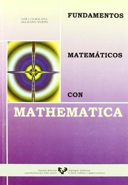 portada fudamentos matemáticos con mathematica