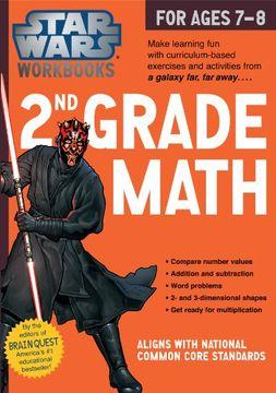 portada Star Wars Workbook: 2nd Grade Math (Star Wars Workbooks)