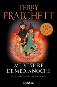 portada Me Vestiré de Medianoche (Mundodisco 38) (Best Seller)