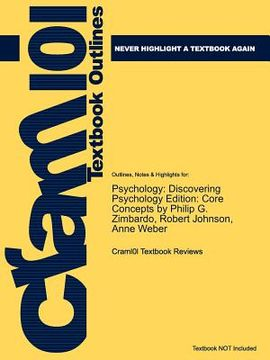 portada studyguide for psychology: discovering psychology edition: core concepts by philip g. zimbardo, isbn 9780205570867
