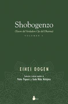 portada Shobogenzo (Vol. 4): Tesoro del Verdadero ojo del Dharma