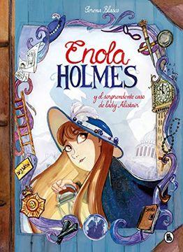 portada Enola Holmes y el Sorprendente Caso de Lady Alistair (Enola Holmes. La Novela Gráfica 2)