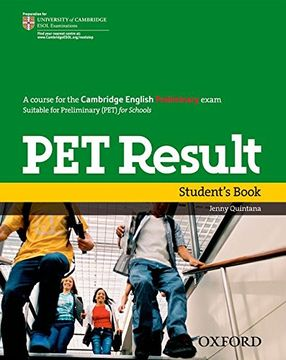 portada Pet Result Student's Book (Preliminary English Test (Pet) Result) - 9780194817158 (libro en Inglés)