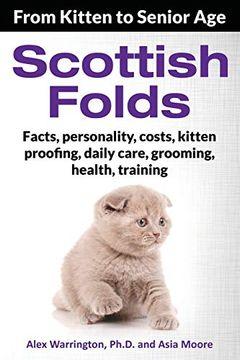 portada Scottish Folds: From Kitten to Senior age (libro en inglés)