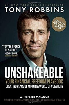 portada Unshakeable: Your Financial Freedom Playbook (libro en Inglés)