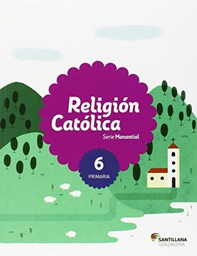 portada Religion Católica 6º Primaria: Manantial