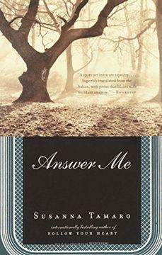 portada Answer me (libro en Inglés)