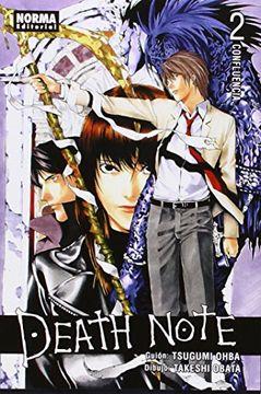 portada Death Note 02: Confluencia