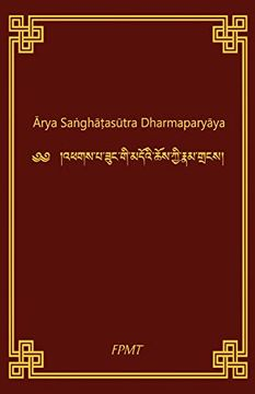 portada Arya Sanghatasutra Dharmaparyaya (libro en inglés)