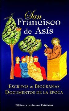 portada San Francisco de Asis - Escritos y Biografias