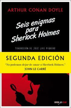 portada Seis Enigmas Para Sherlock Holmes