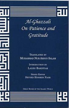 portada Al-Ghazzali on Patience and Gratitude (The Deliverers) (libro en Inglés)