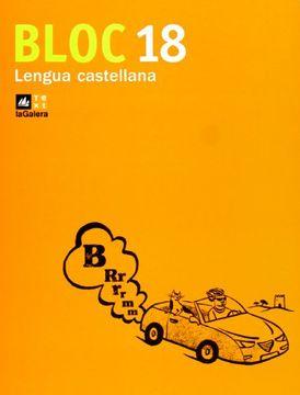 portada Bloc Lengua Castellana 18
