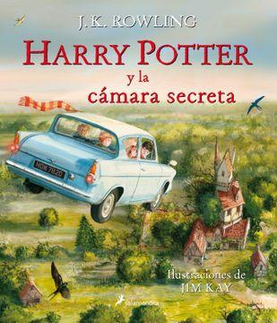 portada Harry Potter y la Camara Secreta (Ilustrado)