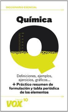 portada Química (Vox - Diccionarios Temáticos vox - Colección vox 10)