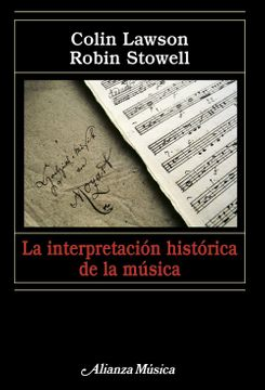 portada La Interpretación Histórica de la Música