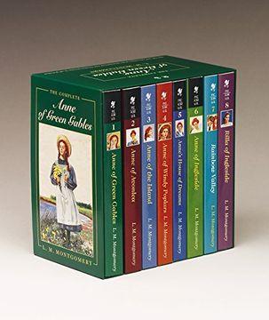 "portada The Complete ""Anne of Green Gables"": Anne of Green Gables; Anne of the Island; Anne of Avonlea; Anne of Windy Poplar; Anne's House of Dreams; Anne of Ingleside; Rainbow Valley; Rilla of Ingleside (libro en Inglés)"