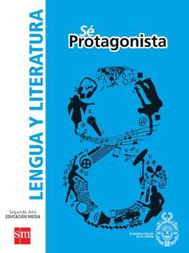portada Lengua y Literatura 8º Básico (sé Protagonista) (Sm)