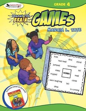 portada Engage the Brain: Games, Grade Four (libro en inglés)
