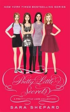 portada pretty little secrets: pretty little liars. by sara shepard