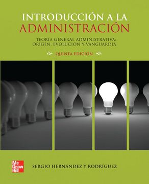portada Introduccion a la Administracion Teoria General Administrati