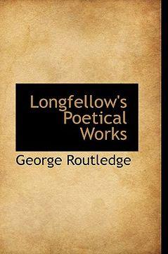 portada longfellow's poetical works