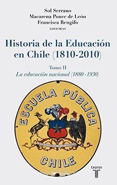 portada Historia de la Educacion en Chile. Tomo 2