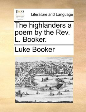 portada the highlanders a poem by the rev. l. booker.