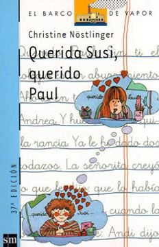 portada Querida Susi, Querido Paul