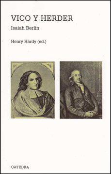 portada Vico y Herder: Dos Estudios en la Historia de las Ideas (Teorema. Serie Mayor)