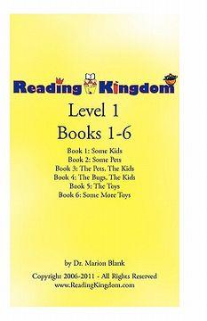 portada reading kingdom level 1 books 1-6