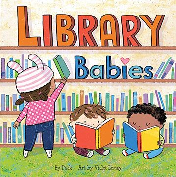 portada Library Babies (libro en Inglés)