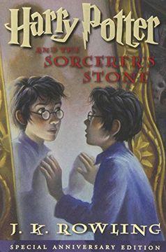 portada Harry Potter and the Sorcerer's Stone (libro en Inglés)