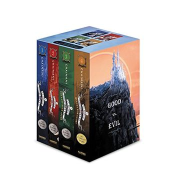 portada The School for Good and Evil Books 1-4 Paperback box set (libro en Inglés)