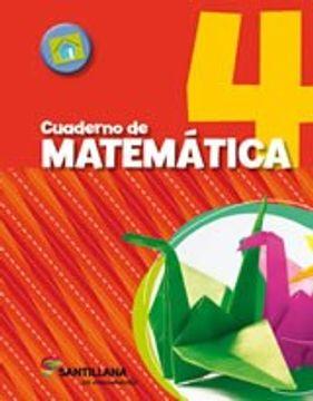 portada Cuaderno de Matematica 4 Santillana en Movimiento
