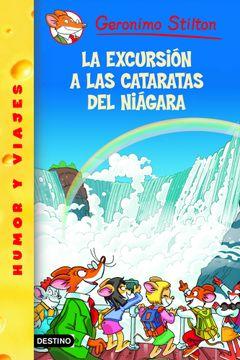 portada geronimo stilton 46: La excursion a cataratas del niagara